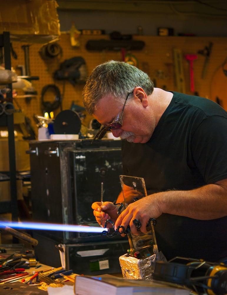 Labrie Glass Studio: 713 9th St, Benton City, WA