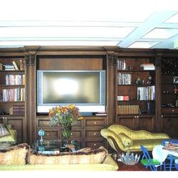 Photo Of R J Hoppe   Newark, NJ, United States. Custom Home Library  Entertainment ...