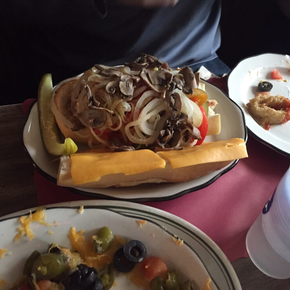Chicken cheese steak with the works - Yelp