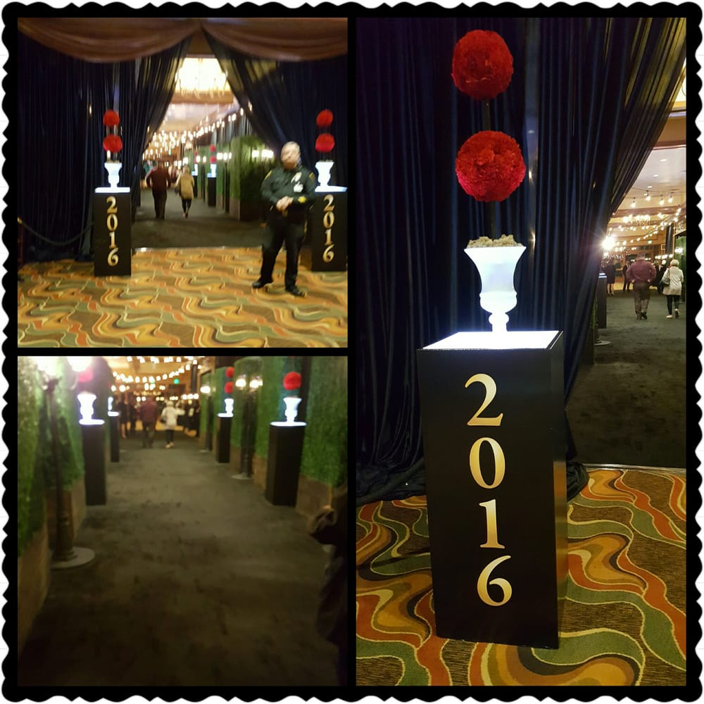 The Entrance To The 2016 Nye Gala In The Grand Ballroom
