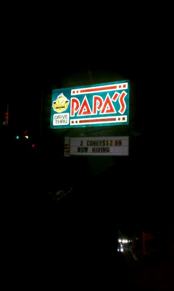 Papa's Drive-Thru: 3522 W Pierson Rd, Flint, MI