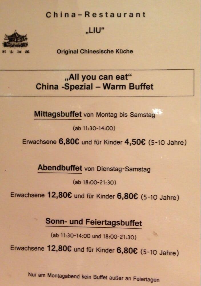 Chinarestaurant Liu: Kolpingstr. 50, Kaufering, BY