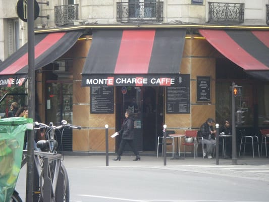 monte charge caffe french 143 rue du faubourg saint antoine ledru rollin paris 11 paris. Black Bedroom Furniture Sets. Home Design Ideas