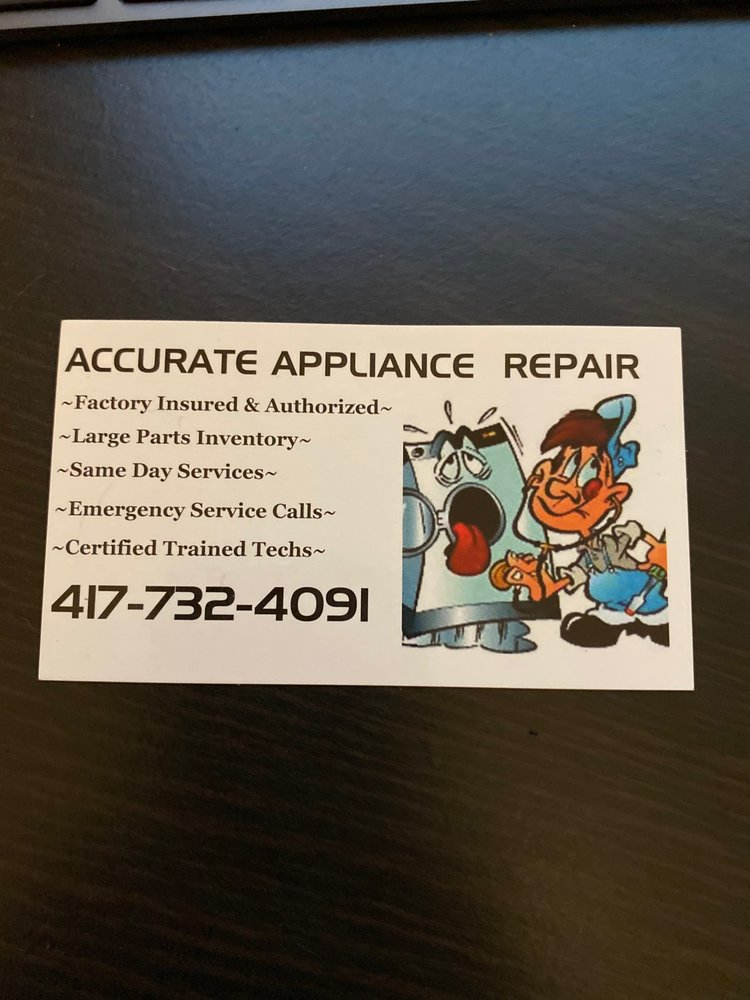 Accurate Appliance Repair: 2300 Poinsetta, Billings, MO