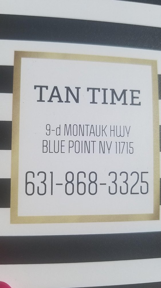 Tan Time: 9-D Montauk Hwy, Blue Point, NY