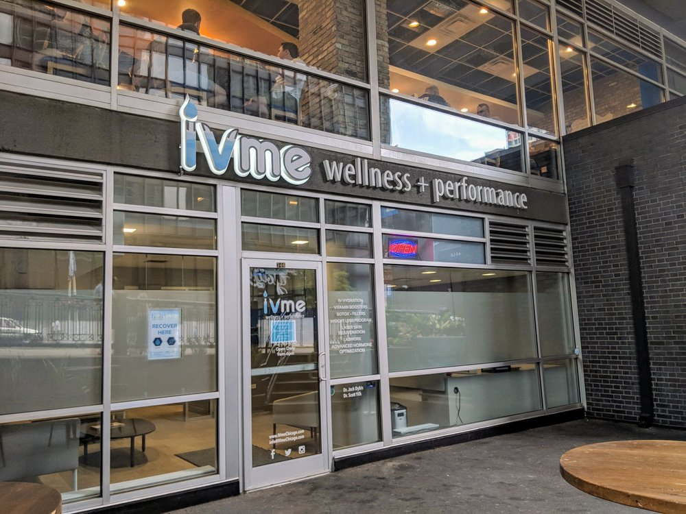 IVme Wellness + Performance Center: 346 N State St, Chicago, IL
