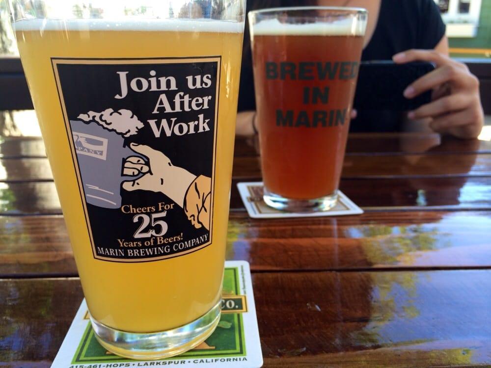 photo of marin brewing  pany   larkspur ca united states  banana hammock and banana hammock and es chi   yelp  rh   yelp