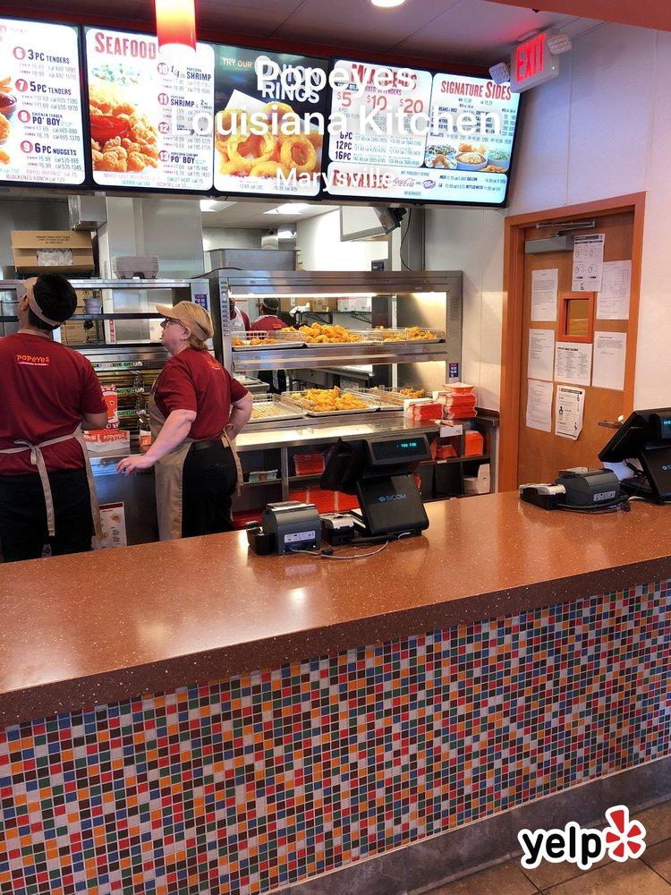 Popeyes Louisiana Kitchen: 11533 38th Dr NE, Marysville, WA