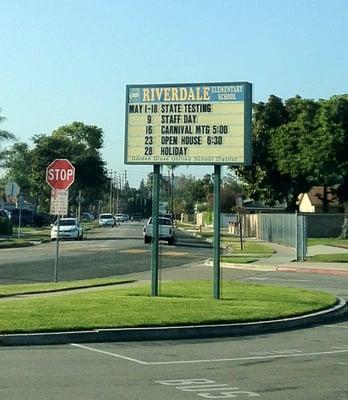 Riverdale Elementary School Ala Asteet 13222 Lewis St Garden Grove Ca Yhdysvallat