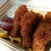 Photo of Hapuku Fish Shop - Oakland, CA, United States. Fish and garlic fries