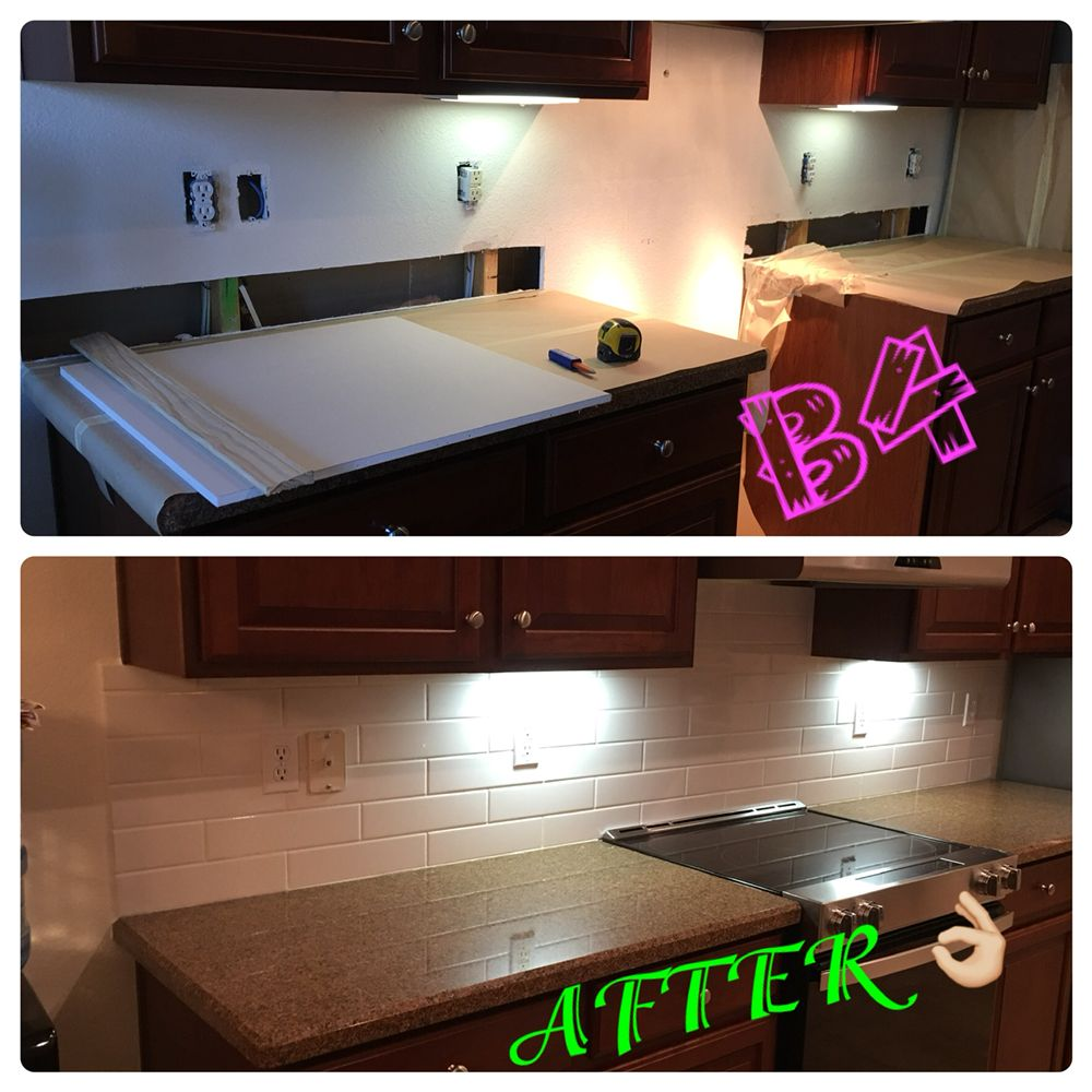 B4 and AFTER Home Repairs