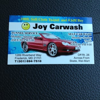 Joy carwash closed car wash 1289 riverbend way frederick md photo of joy carwash frederick md united states buy 7 washes solutioingenieria Image collections