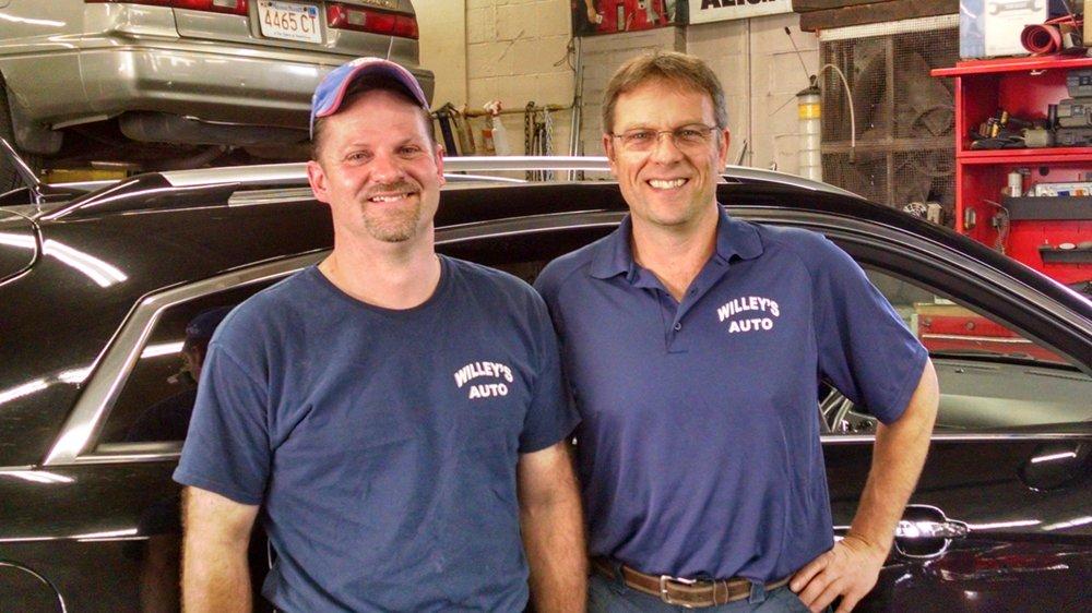 Willey's Auto: 1 Euclid Ave, Maynard, MA