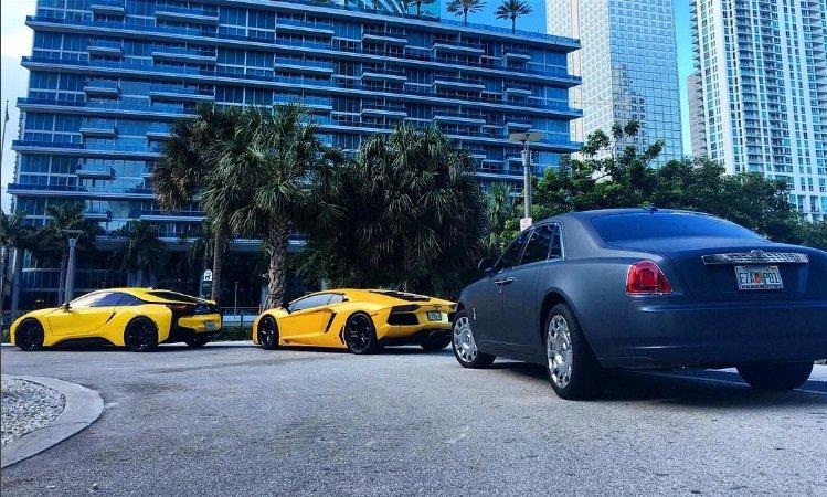 Miami South Beach Car Rental Luxury Exotic Bmw I8 Lamborghini