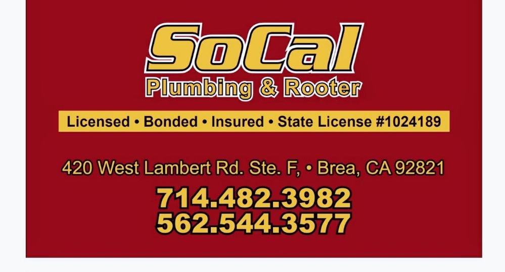 SoCal Plumbing & Rooter