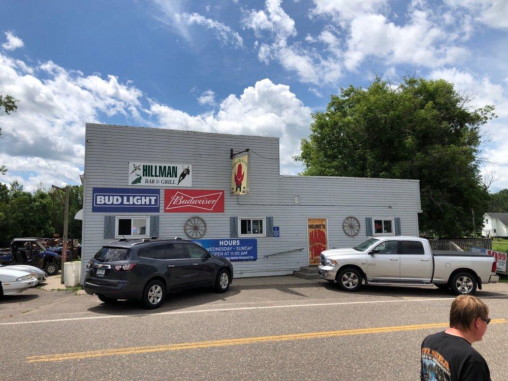 Hillman Bar & Grill: 37297 168th St, Hillman, MN