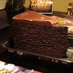 Layer Chocolate Cake Strip Steak Planet Hollywood