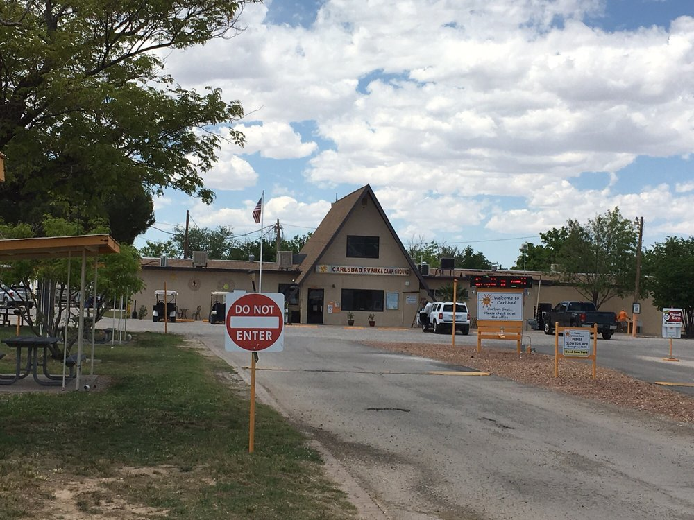 Carlsbad Rv Park & Campgrounds: 4301 National Parks Hwy, Carlsbad, NM