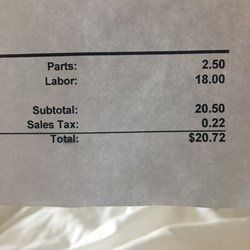 Photo Of Monterey Tire Service   Seaside, CA, United States. $20.72 For A