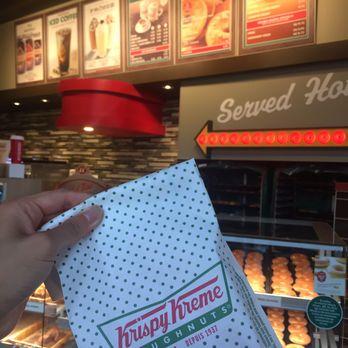 krispy kreme cafe 54 photos 24 reviews doughnuts. Black Bedroom Furniture Sets. Home Design Ideas