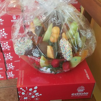 working at edible arrangements