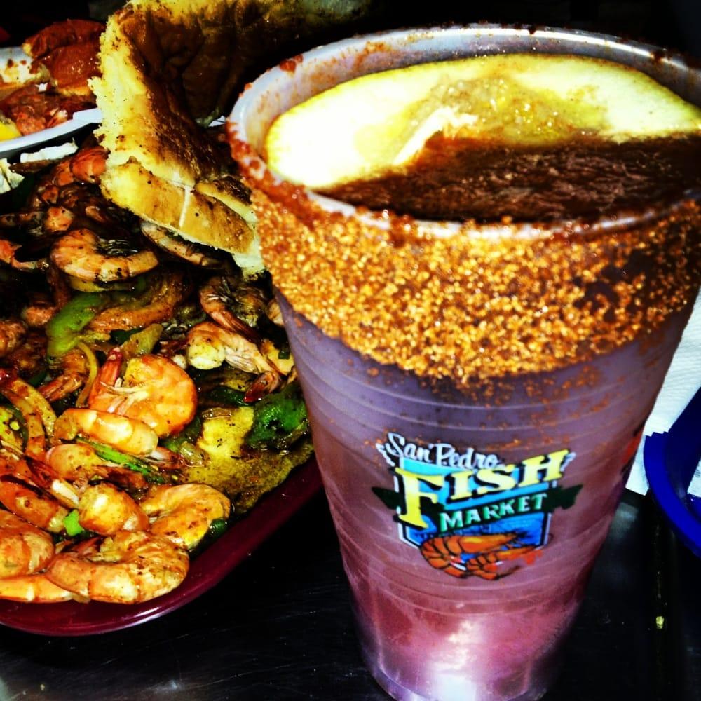 Michelada yelp for San pedro fish market and restaurant