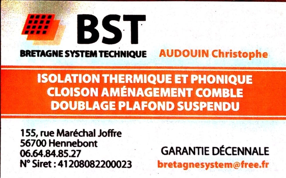 Bst Placoplatre Contractors 155 Rue Marechal Joffre Hennebont Morbihan France Phone