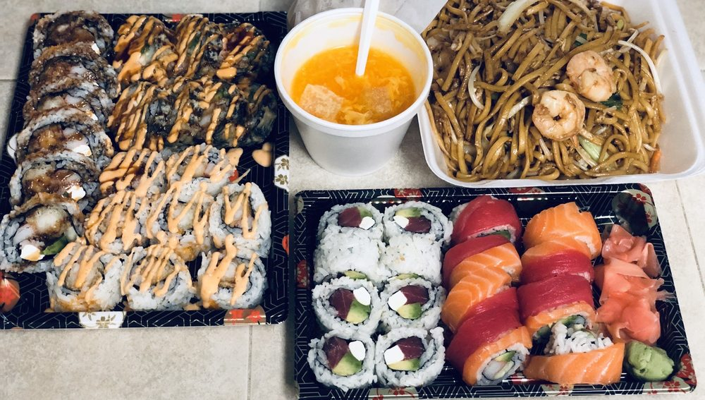 Chong Wah bistro and sushi: 9301 NE 10th St, Midwest City, OK