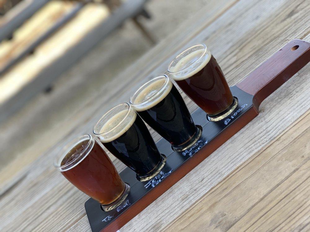 San Gabriel River Brewery: 500 Chaparral Dr, Liberty Hill, TX