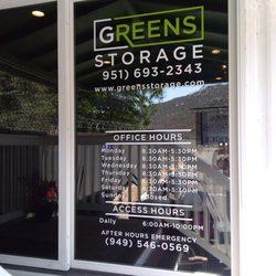 Greens Storage   34 Reviews   Self Storage   47355 Rainbow ...