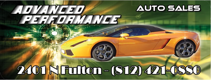 Photos for advanced performance auto sales yelp for Select motors evansville in