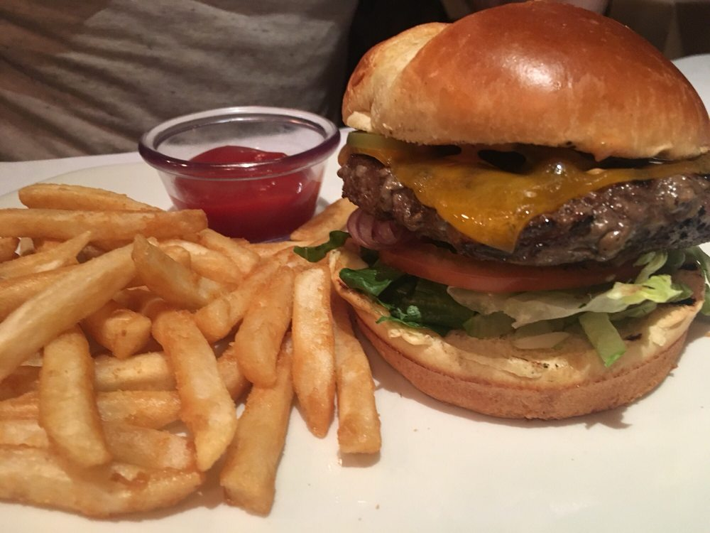 Half Pound Wagyu Beef Burger Yelp