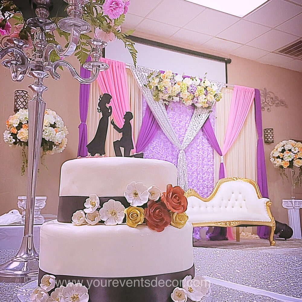 engagement party decor for lovely couple anil & suvi @ ruchi