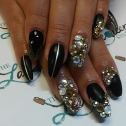 The lacquer studio 12 photos nail salons 6521 lyndale ave s photo of the lacquer studio minneapolis mn united states black and gold prinsesfo Gallery