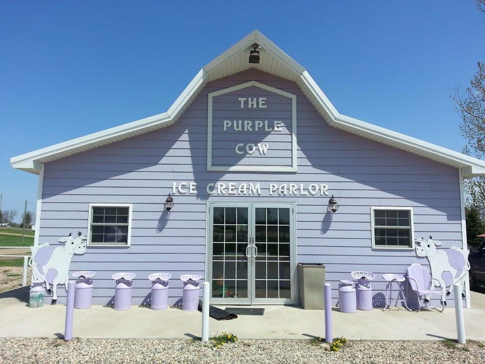 Purple Cow: 30 E Highway 12, Waubay, SD
