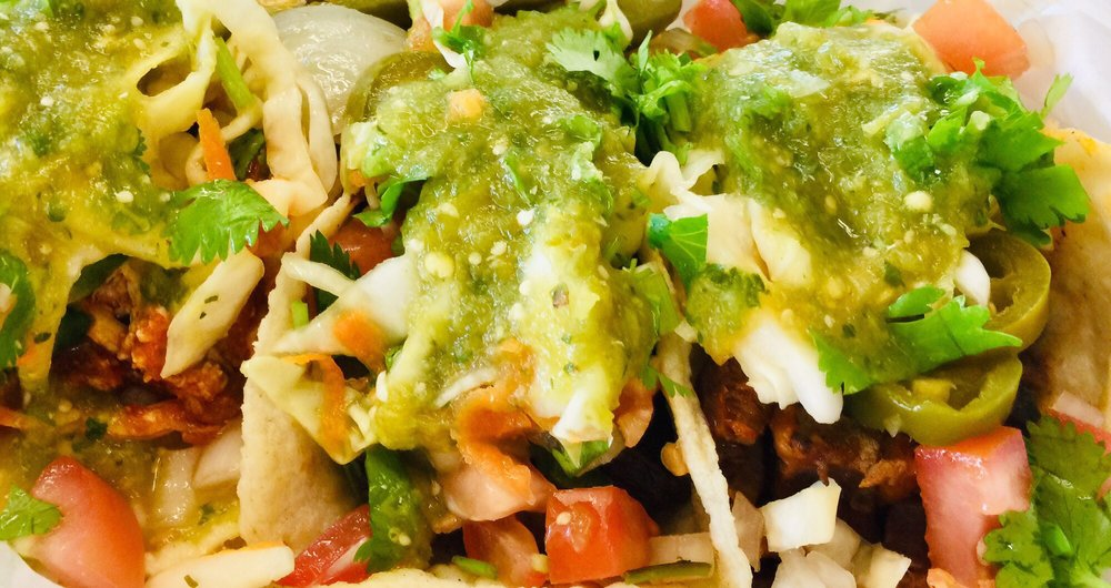 Food from Guanajuato Restaurant of Durham