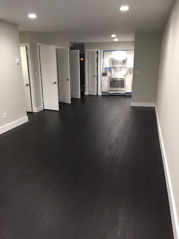 True Black Duraseal Stain And 2 Coats Of Bona Mega Yelp