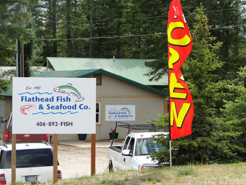 Flathead fish and seafood co seafood markets 3820 mt for Montana fish company