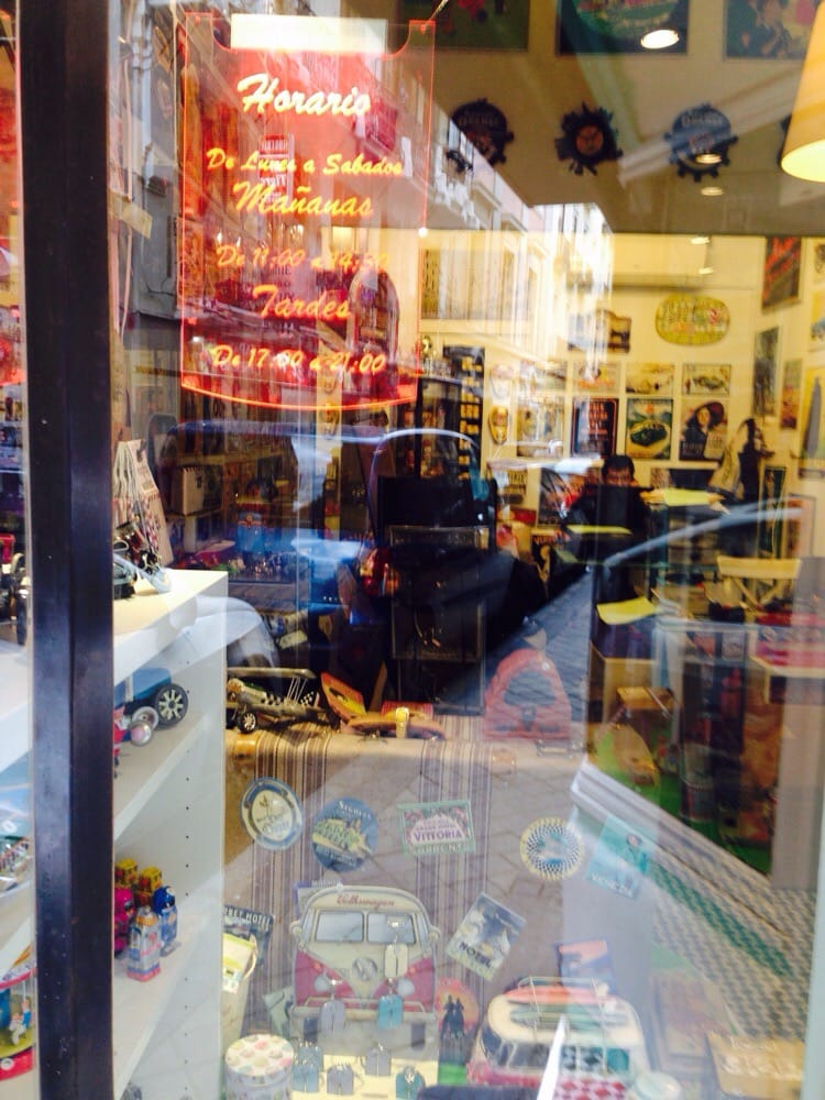 Nostalgic shop decoraci n del hogar calle de las for Decoracion hogar madrid