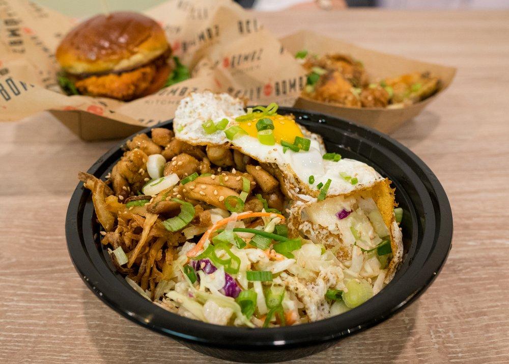 Food from Belly Bombz Korean Inspired Chicken