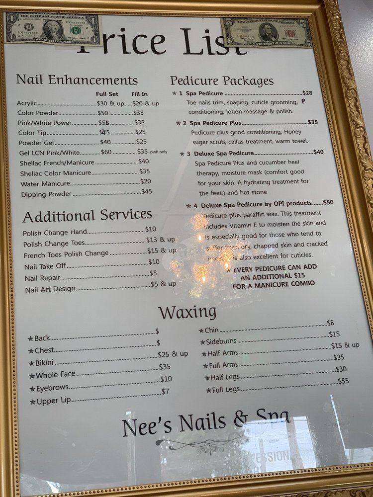 Nee's Nails & Spa: 2000 Wilmington Rd, New Castle, PA
