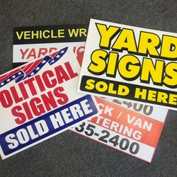 Performance wraps 13 photos signmaking 3030 kettering blvd photo of performance wraps dayton oh united states we print yard signs reheart Gallery