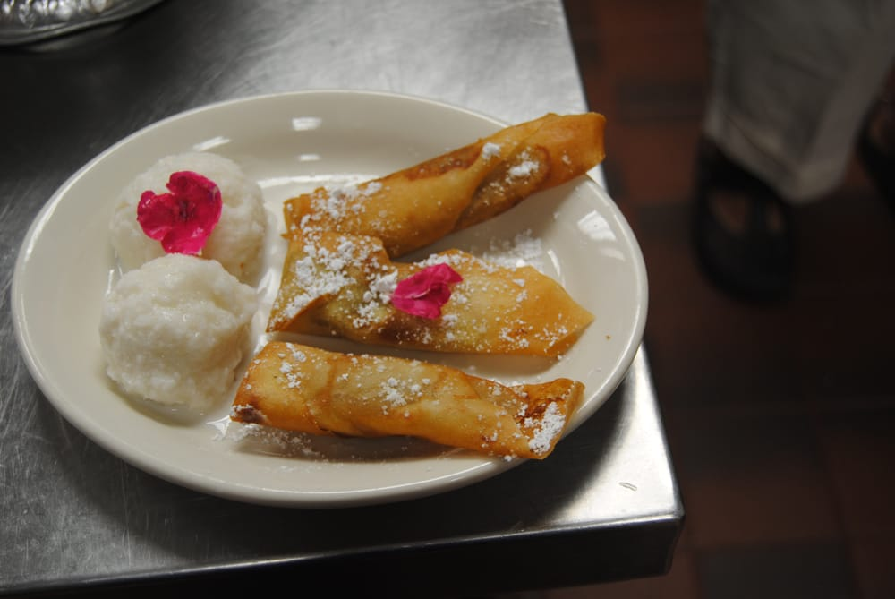 how to make fried banana dessert