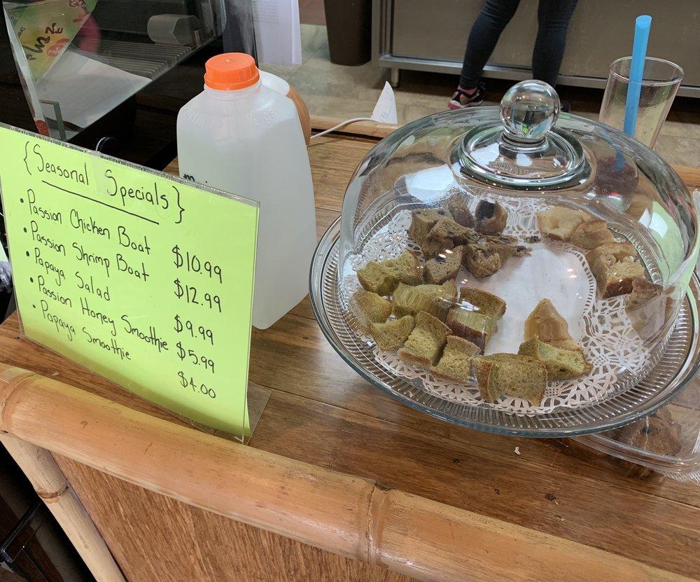 Living Food Bakery & Cafe: 38201 10th Ave, Zephyrhills, FL