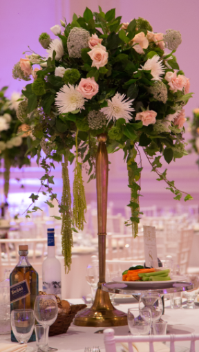 Wedding Centerpieces Full Of Greens As I Had Asked Love The Custom