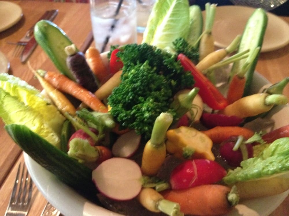 True Food Kitchen Crudite local vegetable crudités - yelp