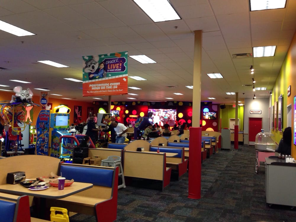 chuck e cheeses fort worth tx