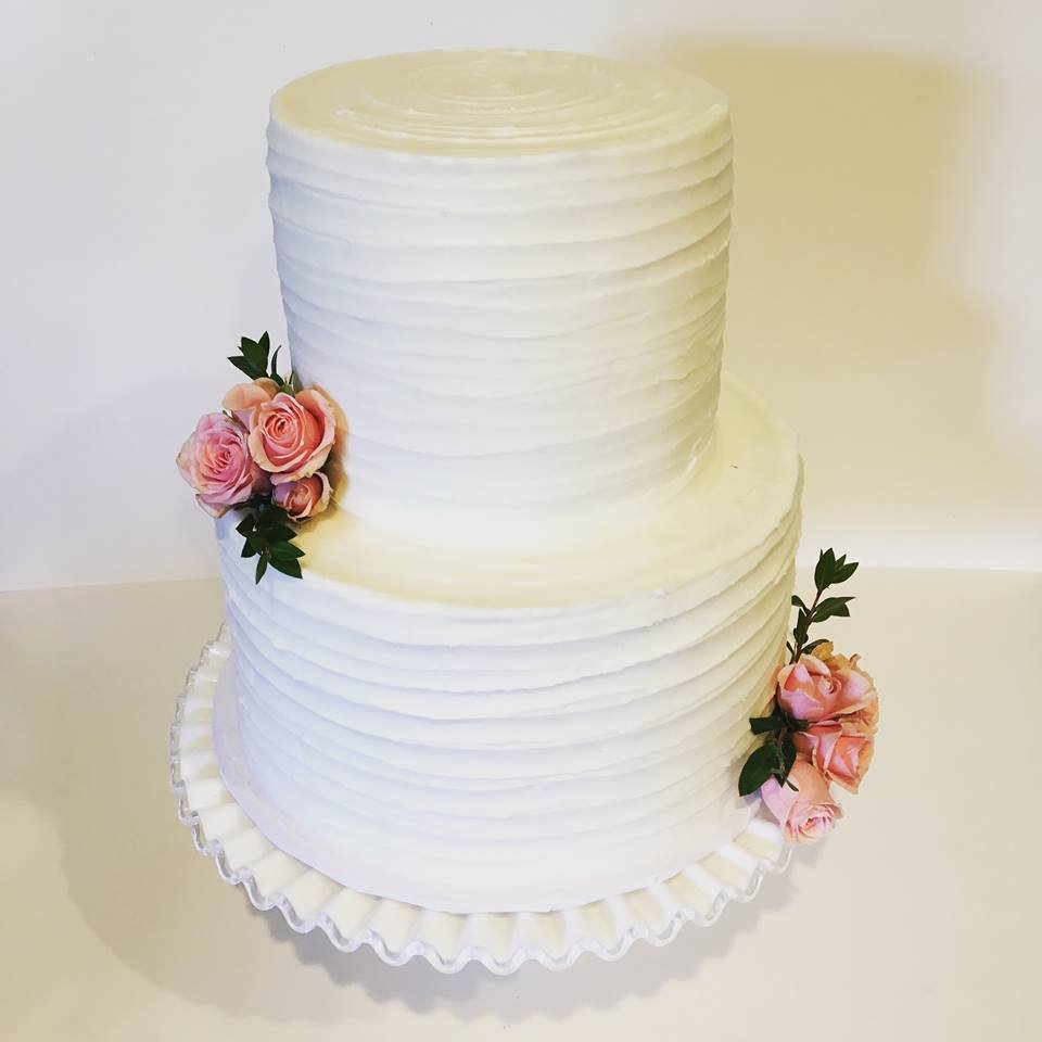 Elegant 2 Tier Wedding Cake Yelp