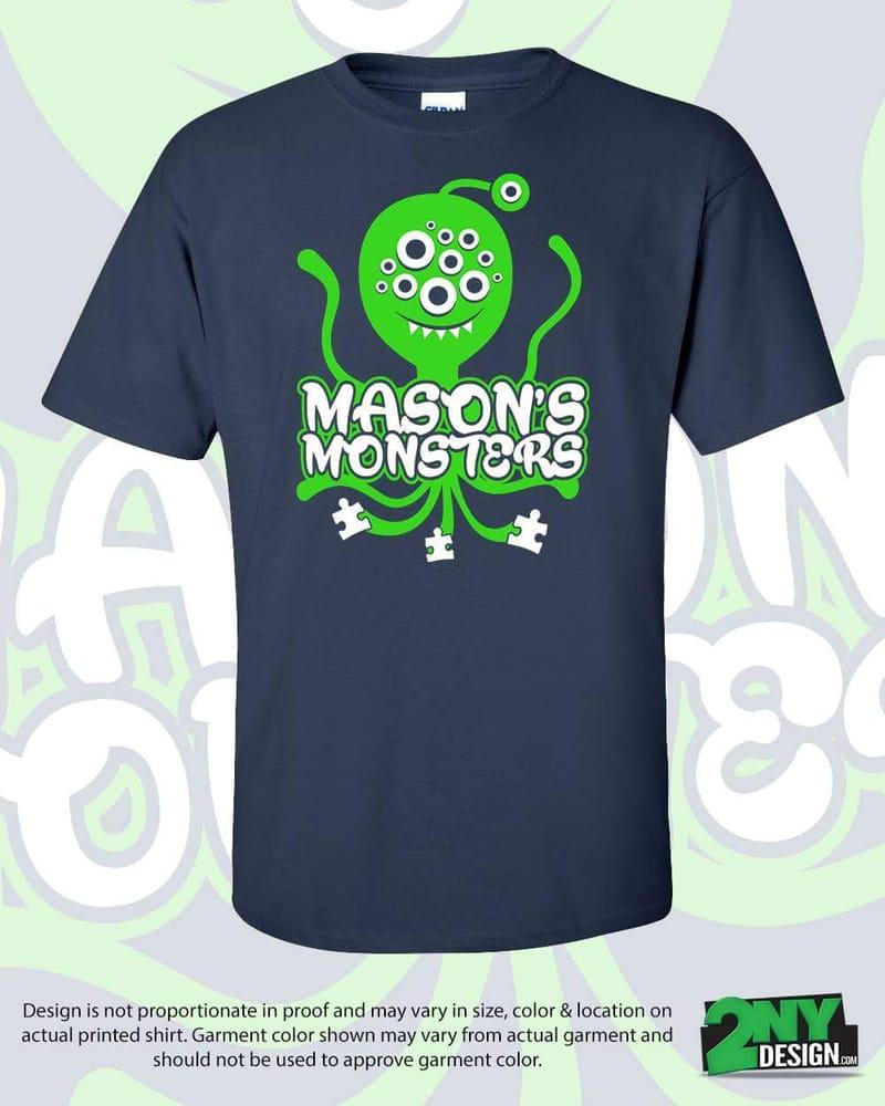 Custom Autism Team Shirts Yelp
