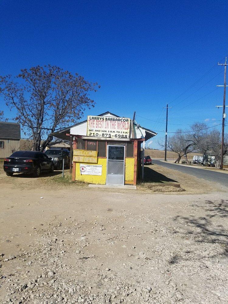 Larry's Barbacoa: 15538 U S 181, San Antonio, TX